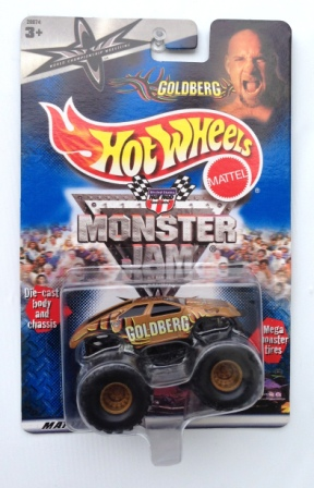 "HW (Monster Jam Long Cards) ""Rare"" Limited Edition 1:64 Scale Collection Series ""Rare-Vintage"" (2000)"