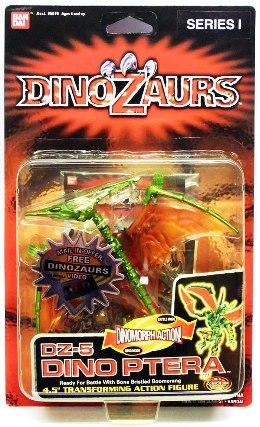 "DinoZaurs (Transforming Action Series-1) ""Rare-Vintage"" (1998)"