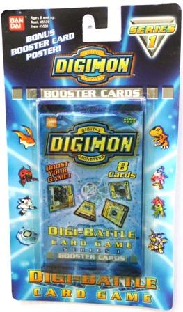 """DIGI-BATTLE CARDS (Booster Packs) """"Rare-Vintage"""" (2000)"""