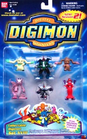 "DIGIMON COLLECTIBLES (Action Figures & Starter Sets) ""RARE-VINTAGE"" (1999-2000)"