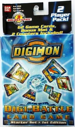 """DIGI-BATTLE CARDS (1st Edition Starter Sets) """"Rare-Vintage"""" (2000)"""