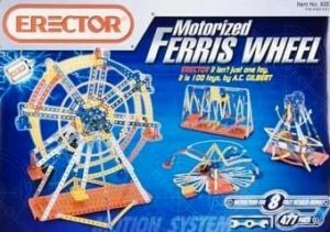 "Erector ""Motorized 3V Ferris Wheel Set"" (Erector Motorized Ferris Wheel Series) ""Rare-Vintage"" (2003)"