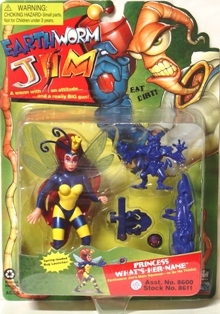 "Earth Worm Jim Series ""Rare-Vintage"" (1994)"
