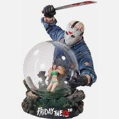 "Friday The 13th Horror Globe (Jason Voorhees) ""Rare-Vintage"" 2003"