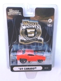 "MUSCLE MACHINES (""5th Anniversary Limited Editions"") ""Rare-Vintage"" (2005)"