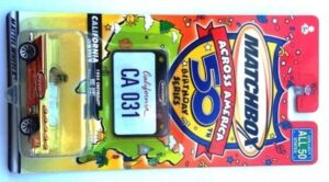 "Matchbox (""Across America Exclusive 50th Birthday Series"") Collectible Diecast 1:64 Scale Series) ""Rare-Vintage"" (2001-2002)"