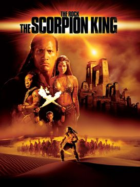 "The Scorpion King (Original Movie Digitally Scan Actor's Face 7"" Collector's Series) ""Rare-Vintage"" (2002)"