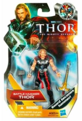 "Thor (Marvel Studios Thor-The Mighty Avenger Movie Collector's Series) ""Rare-Vintage"" (2011)"