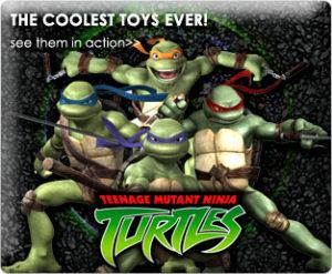 """TMNT (Teenage Mutant Ninja Turtles Feature Film Movie Collectible Action Figures Series) """"Rare-Vintage"""" (2006-2008)"""