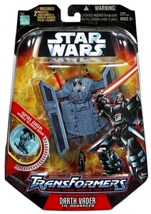 "Star Wars (Transformers) ""Revenge of the Sith Transformers"" (Hasbro Collection Vintage Series) ""Rare-Vintage"" (2006)"