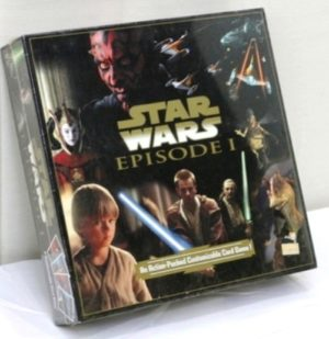 "Star Wars (Customizable Card Game) Episode-I (Vintage Card Game Collection) ""Rare-Vintage"" (1999)"