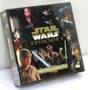 "Star Wars (Customizable Card Game) Episode-I (Vintage Card Game Collection) ""Rare-Vintage"" (1999)"