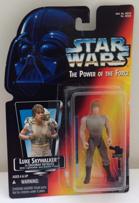 Luke Skywalker In Dagobah wShort Lightsaber - Copy