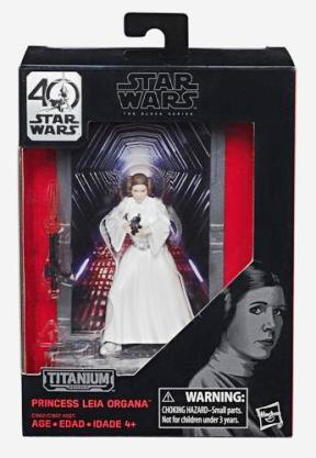 "Star Wars (40th Anniversary ""Titanium Series"") The Black Series ""Rare-Release"" (2016)"