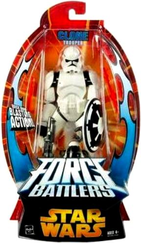 "Star Wars (Force Battlers) 7"" Action Figures! (Star Wars: EP III ROTS ""Rare-Vintage"" (2005)"