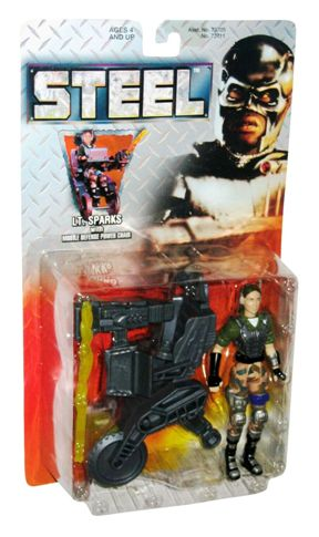 "Steel (Feature Film Movie Action Figures) Kenner Vintage Series-1 Collection ""Rare-Vintage"" (1997)"