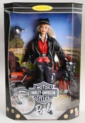 "Harley Davidson Barbie Exclusive Series (Toys R Us ""Collector And Limited Edition"" Collection) ""Rare-Vintage"" (1997-2001)"