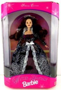 Winter Fantasy Barbie II (Brunette)-3
