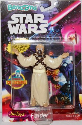 """Star Wars (Bend-Ems """"Limited Edition With Topps Collectors Trading Cards"""" Vintage Collection Series) """"Rare-Vintage"""" (1993)"""