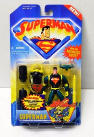 """Superman (""""The New Animated TV Show"""") Kenner Original Collection """"Rare-Vintage"""" (1996)"""