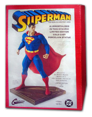 """Superman (Limited Edition Statues & Golden Age Masterpiece Editions) """"Rare-Vintage"""" (1993-2003)"""