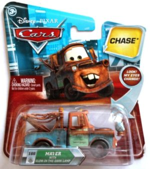 Disney Cars Mater with Glow In The Dark Lamp Chase-00