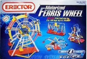 """Erector """"Motorized 3V Ferris Wheel Set"""" (Erector Motorized Ferris Wheel Series) """"Rare-Vintage"""" (2003)"""