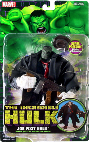 """The Incredible Hulk (Marvel Action Figures Collection) """"Rare-Vintage"""" (1996-2004)"""