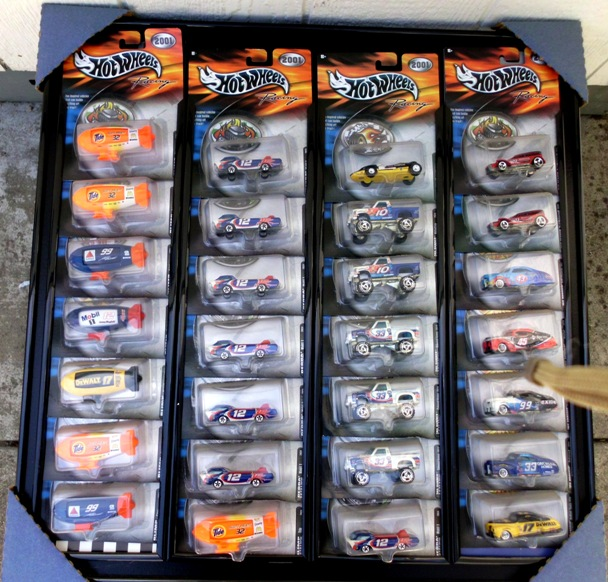 Set #6 Hotwheels Racing Black Frame-28-0
