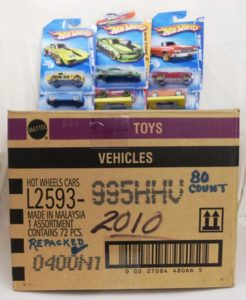 Hotwheels 2010 Case Special 80-pc Repacked Case-A (1) - Copy