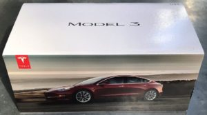 """Tesla Model 3 Replica """"Exclusive Limited Edition"""" Collection """"Rare"""" (2017)"""