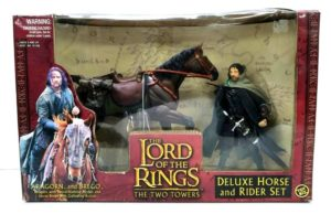 Aragorn and Brego (Horse and Rider Set)-0