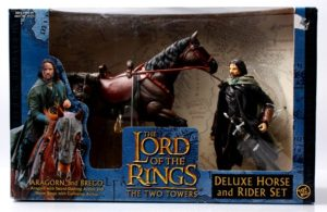 Aragorn and Brego (Horse and Rider Variant Two Towers Blue Box)