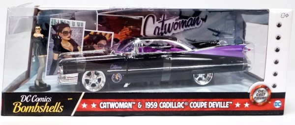 Catwoman & 1959 Cadillac Coupe
