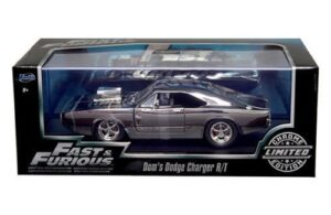 "Fast And Furious 1:24 Scale Diecast Series Collection (Jada Toys Inc. Feature Film Movie Collector's Series Editions) ""Rare"" (2016-2019)"