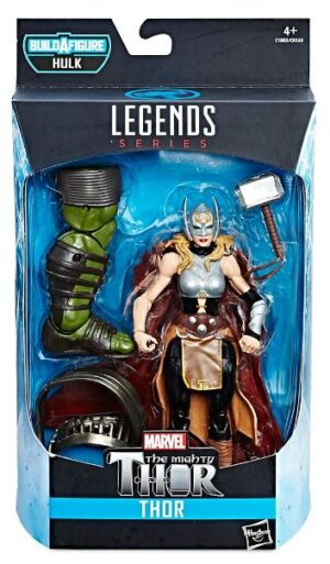 "Marvel Legends (""Hulk Build A Figure Series"") The Mighty Thor ""Rare-Vintage"" (2017)"