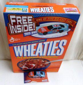 2000 Wheaties Car #43 Petty Enterprises Cars (3)