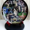Barry Bonds 600 Home Run Collectors Plate (2a)