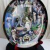 Barry Bonds 600 Home Run Collectors Plate (3)