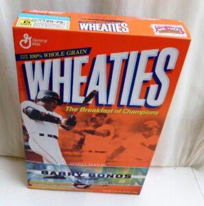 Barry Bonds Empty Box(Single Season Home Runs Champ! Wheaties) (2)