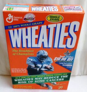 Barry Sanders #20 NFL (Foot Locker) Wheaties (0)