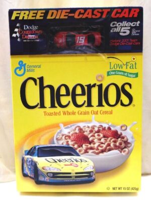 Casey Atwood #19 Die-Cast (Dodge Daytona Countdown-Cheerios) (1 - Copy