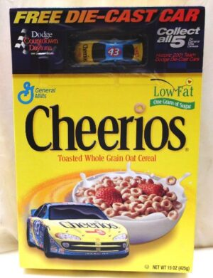 John Andretti #43 Die-Cast (Dodge Daytona Countdown-Cheerios) ( - Copy