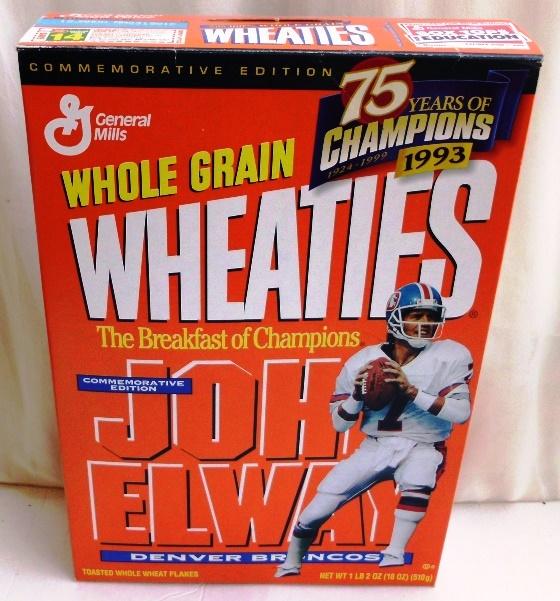 John Elway #7 NFL (75 Years Of Champions) Wheaties (0)