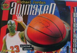 Michael Jordan #23-(Limited-Edition Animated Phone) 1999