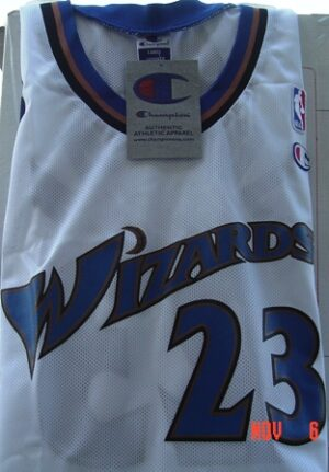 Michael Jordan #23 (Washington Wizards) White-Home Jersey (2002)