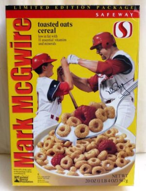 Mark McGwire Empty Box(Safeway Ltd Ed! Toasted Oats) (0)