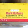 Mark McGwire Empty Box(Safeway Ltd Ed! Toasted Oats) (7)