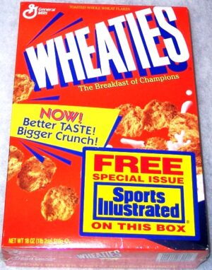 "Wheaties Sports Illustrated ""Free Special Issue Presents-Future Legends Collectors Cereal Box Edition"" (Wheaties-General Mills) ""Rare-Vintage"" (1995)"