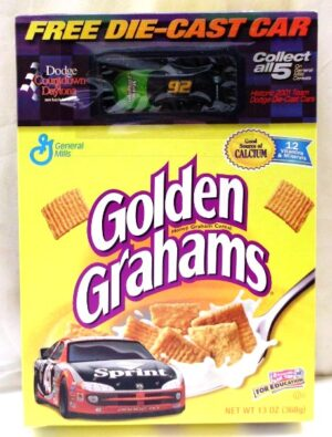 Stacy Compton #92 Die-Cast (Dodge Daytona Countdown-Golden Gram - Copy